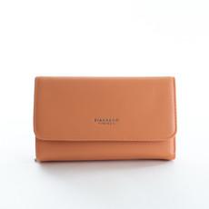 Peňaženka - Diana hladká veľká, broskyňová