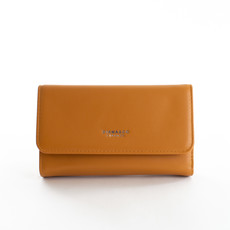 Peňaženka - Diana hladká veľká, hnedá