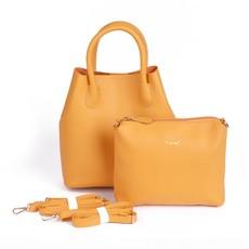 Kabelka - Shiny Silvia sence do ruky, žltá