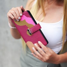 Peňaženka - Gloria farebná vínová