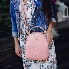Kabelka - Batoh Lizzie ružový