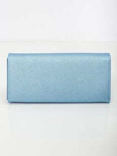 Peňaženka - Saffiano koženková modrá