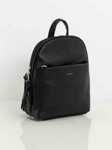 Batoh - koženkový Luigisanto, čierny