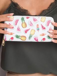 Peňaženka - ovocná biela