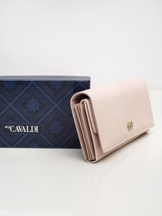 Peňaženka - koženková Cavaldi, ružová