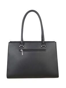 Kabelka - koženková elegantná, čierna