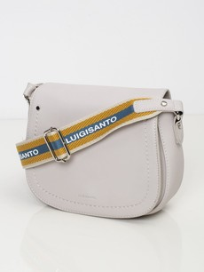 Kabelka - crossbody saddle Luigisanto šedá