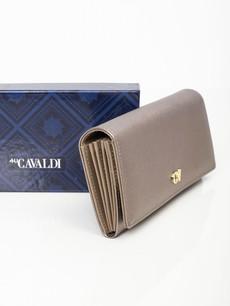 Peňaženka - Saffiano na cvok, zlatá