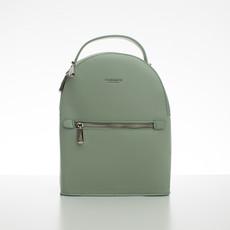 Batoh - malý koženkový Diana s doplnkami, zelený