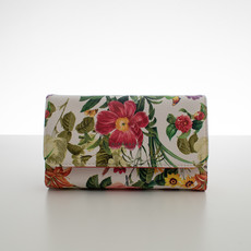 Peňaženka - jarné kvety, červená