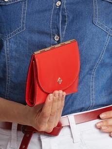 Peňaženka - tenká stredná Milano design červená