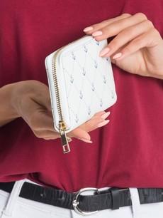Peňaženka - námornícka dámska bielosivá
