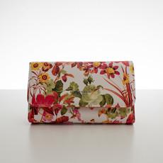 Peňaženka - jarné kvety, oranžová