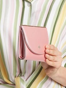 Peňaženka - tenká stredná Milano design ružová