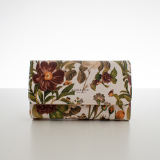 Peňaženka - jarné kvety, béžová