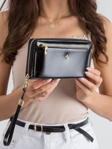 Peňaženka - na ruku Milano design, čierna