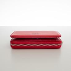 Peňaženka - do kabelky elegantná Diana, korálová červená