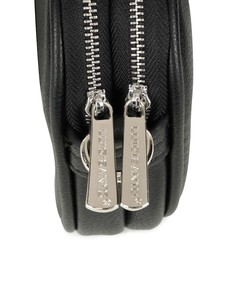 Kabelka - crossbody Luigisanto dvojzips čierna