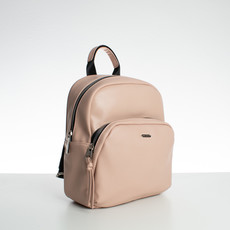 Ruksak - medium David Jones koženkový, ružový