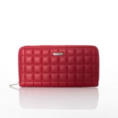 Peňaženka - prešívaná David Jones červená