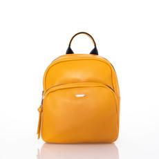 Ruksak - medium David Jones koženkový žltý