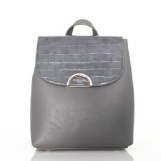 Ruksak - David Jones vzorovaný šedý